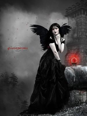 gotica,vestido,preto