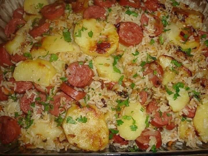 Receta de Arroz con Chorizo