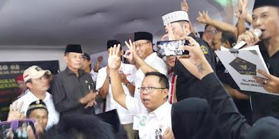 Relawan AHY Deklarasikan Presidium Agus-Sylvi for Anies-Sandi