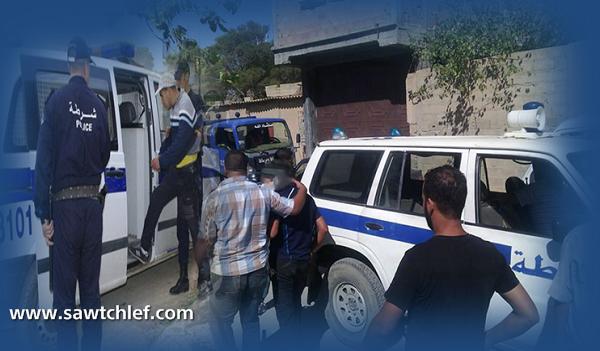 توقيف 5 أشخاص لتورطهم في الإتجار بالمخدرات بالشلف