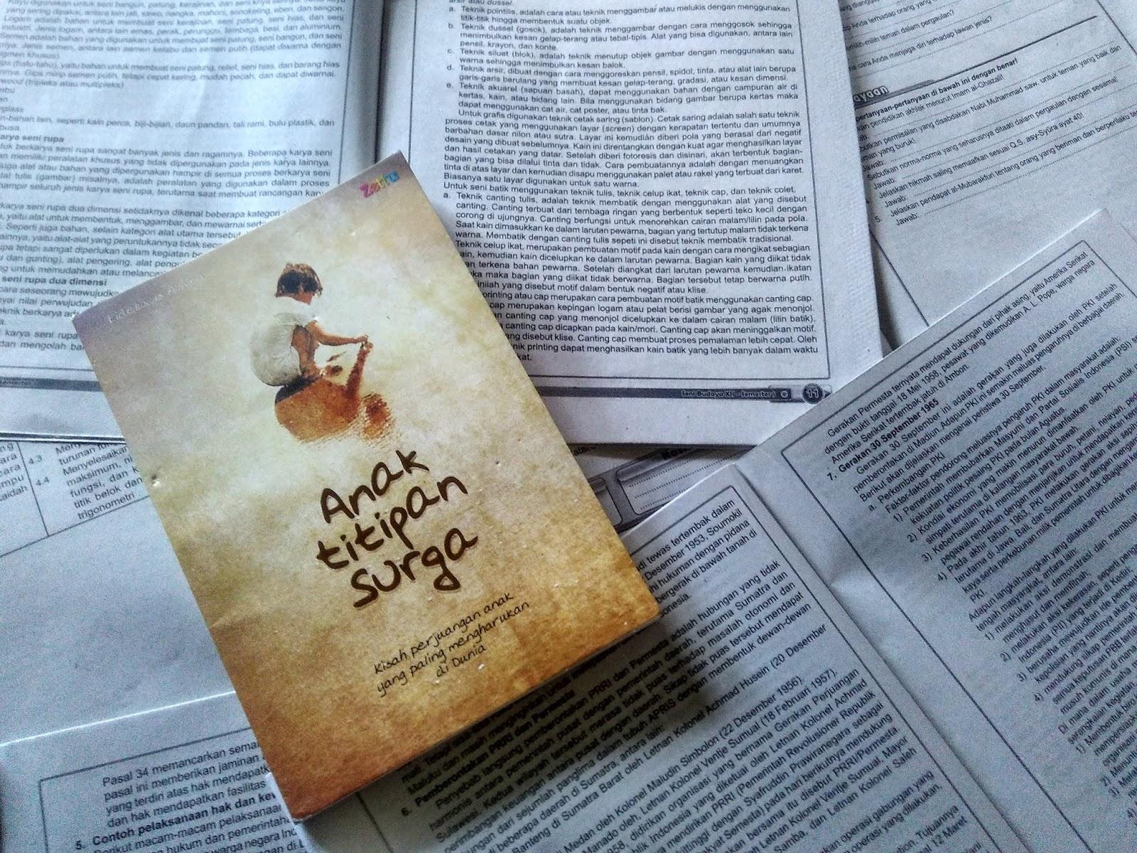 Review Buku Anak Titipan Surga by Eidelweis Almira