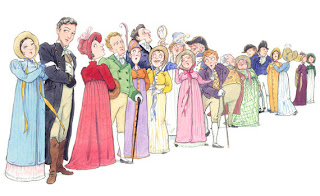 Image result for jane austen characters