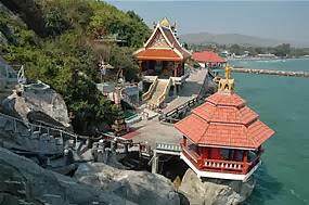 chinesischer Tempel bei Khao Tao Hua Hin