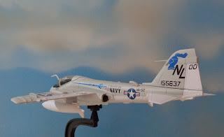 maqueta avion Grumman A-6E Intruder