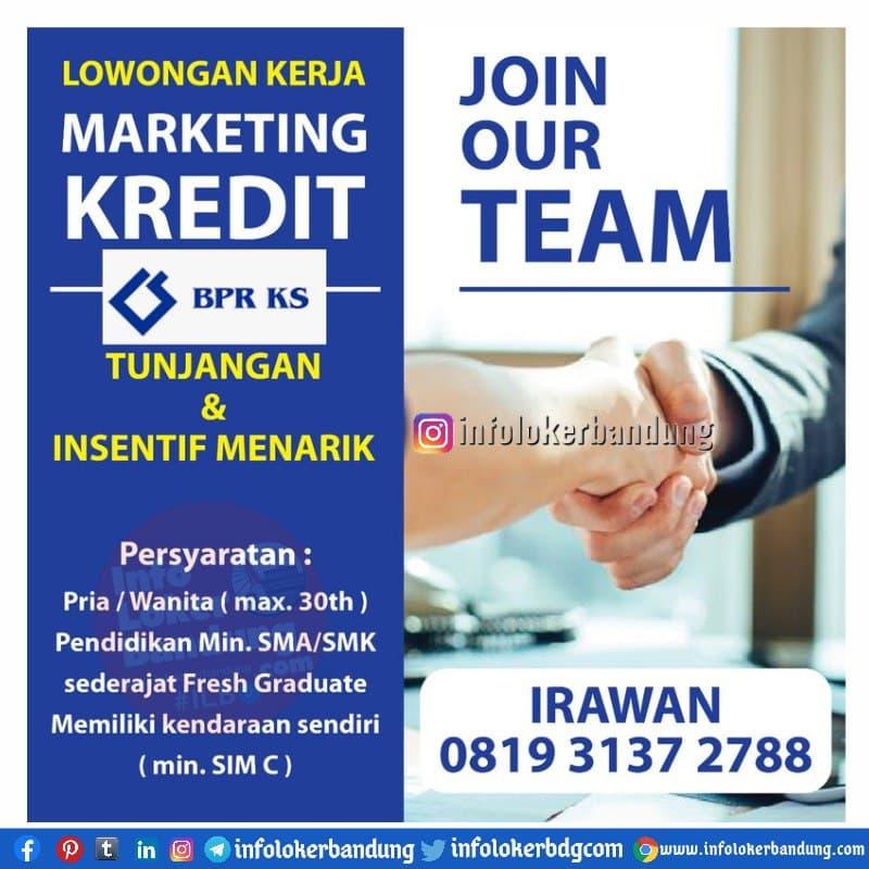 Lowongan Kerja BPR KS Bandung Maret 2021
