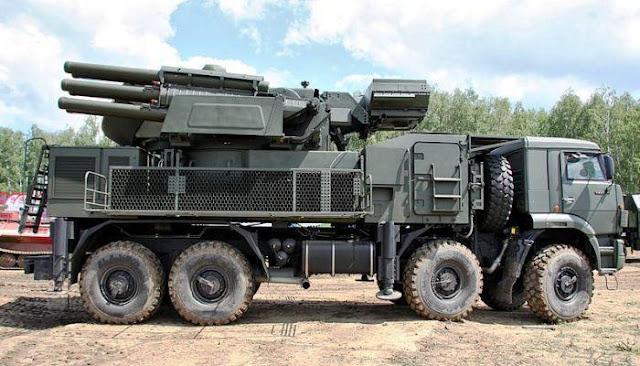 Sistem pertahanan udara Pantsir