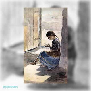 Πίνακας Λεμπέση Πολυχρόνη (Μικρή κουλουριώτισσα, 1892)