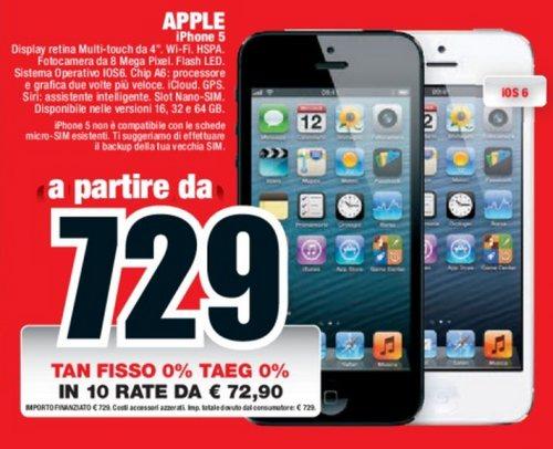 haut de gamme pas cher vente de sortie procédés de teinture minutieux Tecnologia elettronica: Iphone 5s mediaworld prezzo