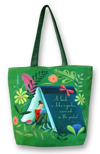 Sarah Wilkins Illustration New Barnes Amp Noble Tote Bag