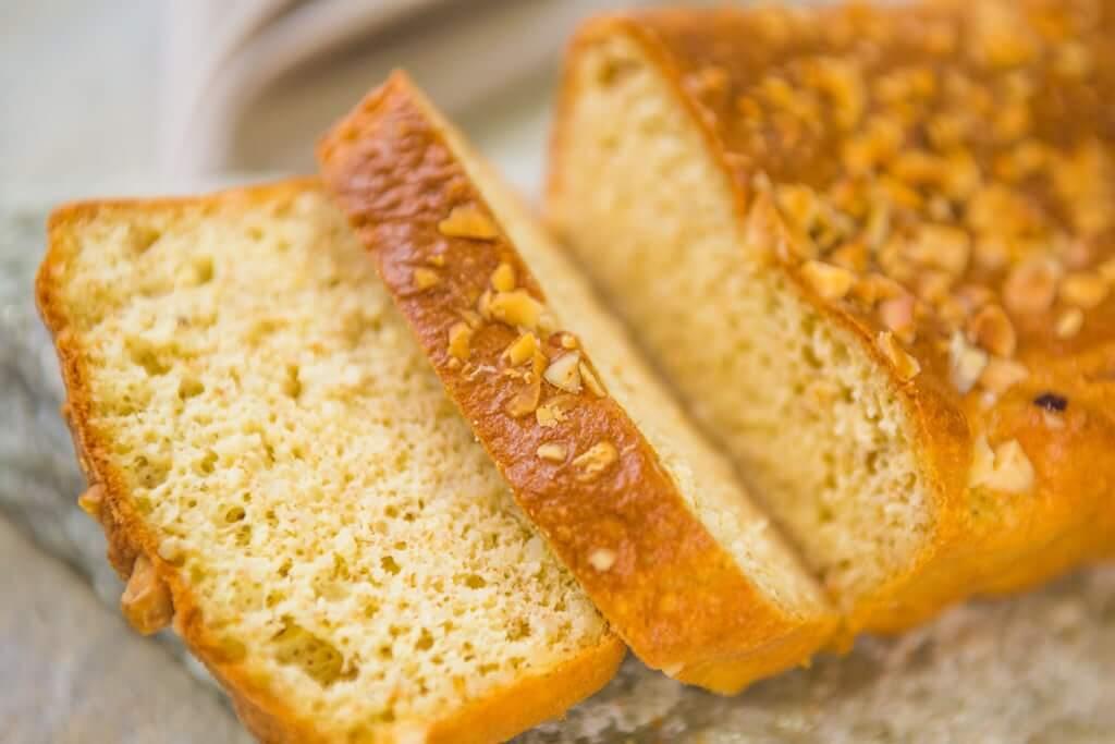 receitas de pão low carb fácil