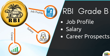 RBI  Grade B - Job Profile, Salary & Career Prospects