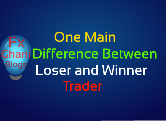 One Main Difference Between Loser and Winner.