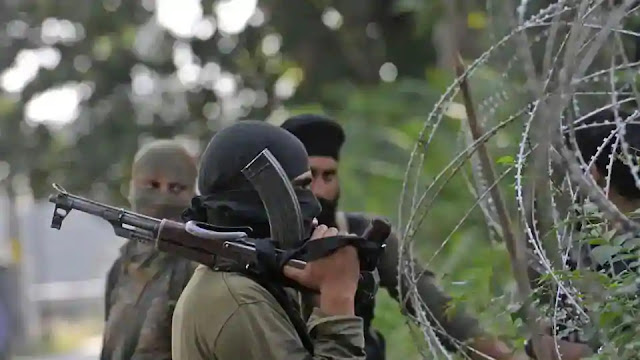 Indian Soldiers patrolling