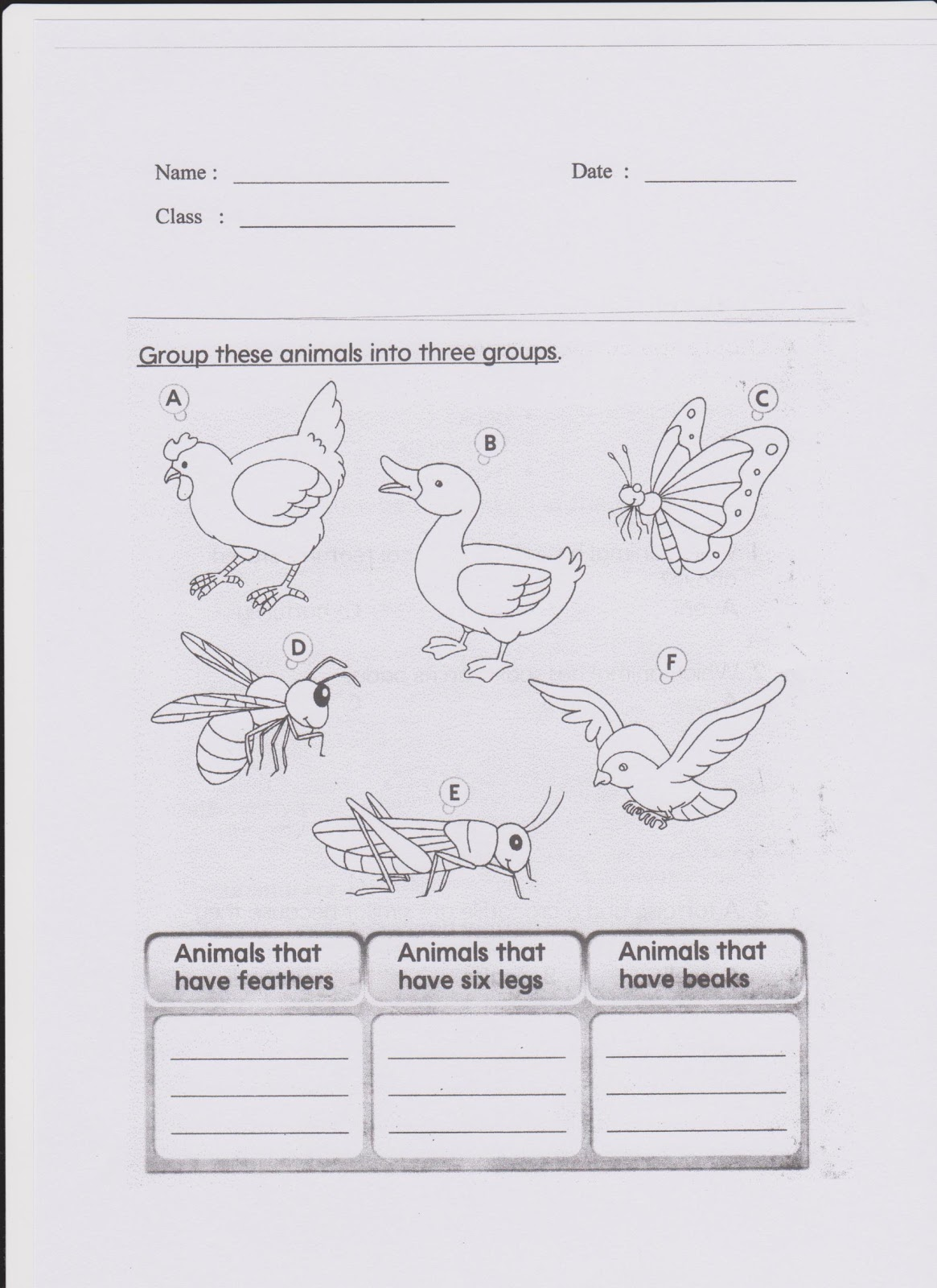 Welcome To Science Year 3 Worksheet