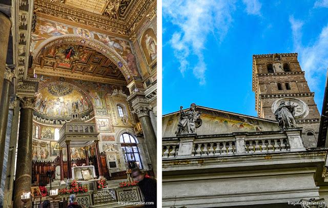 Mosaicos da Igreja de Santa Maria in Trastevere, Roma