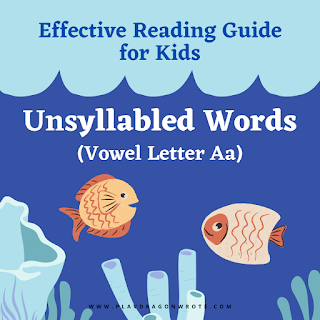 Ongoing Reading Challenge! How to Read the Unsyllabled Words with the Small Vowel Letter a - Effective Reading Guide for Kids