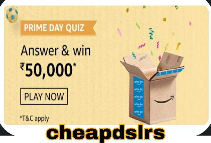 Amazon prime day qiuz answers today, July 27 Amazon Prime Day Quiz Answer