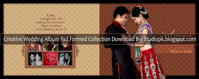 Creative Wedding Album Psd