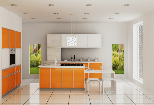A TRENDY MODULAR KITCHEN AT COOKSCAPE