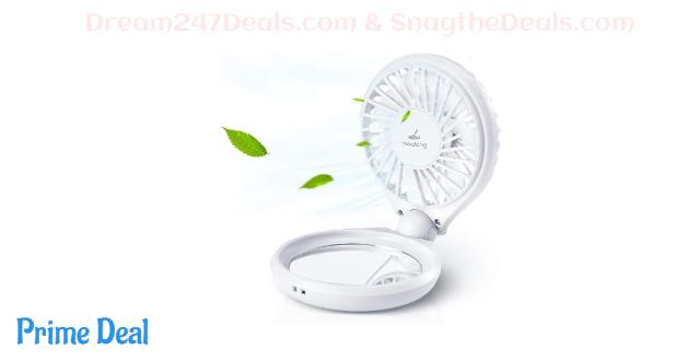 Meidong Portable Fan Mini Handheld Fan  84%OFF
