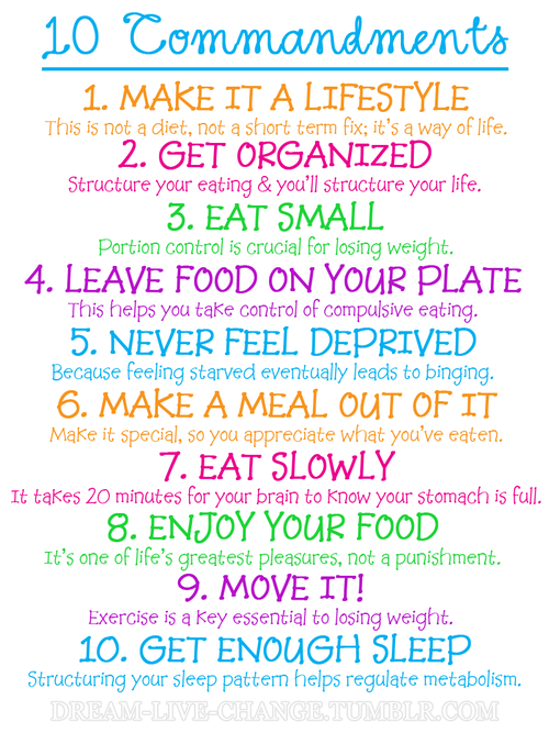 10 Commandments For A Healthy Heart