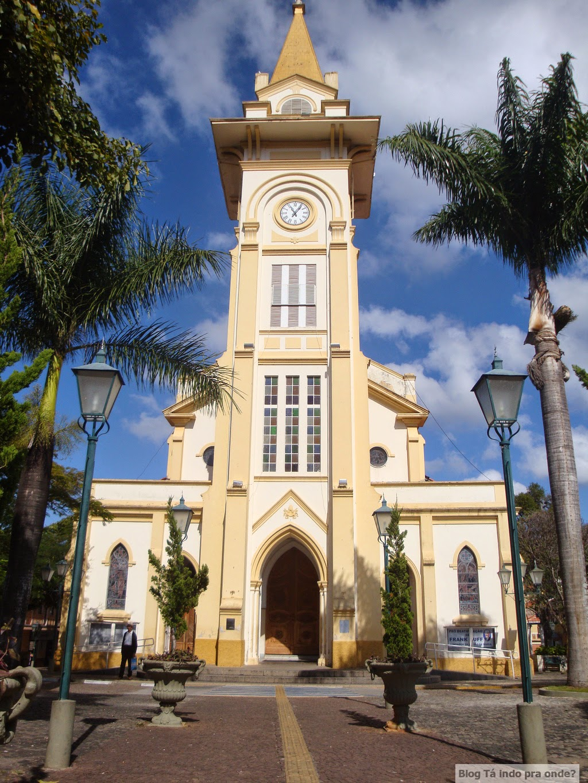 Igreja matriz em Socorro - SP