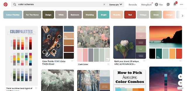 5. Pinterest | https://id.pinterest.com/search/pins/?q=color schemes