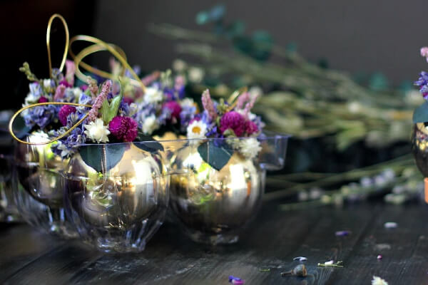 dried flower ornaments