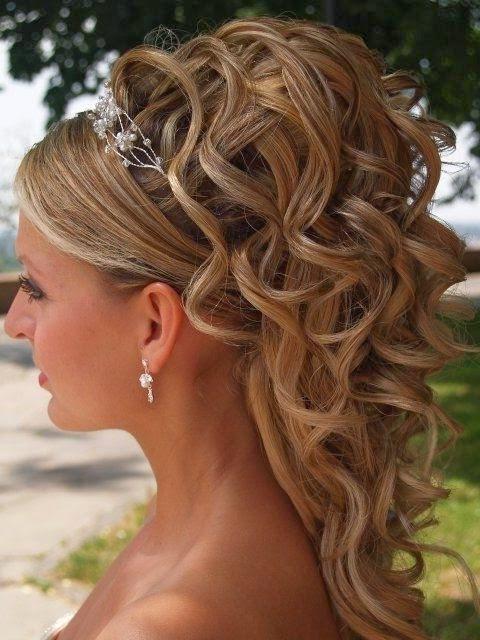 Favori idée coiffure mariage cheveux mi long EJ05