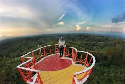 Rute Dan Lokasi Bukit Cinta Bayat Klaten, Spot Foto Kece Yang Lagi Hits