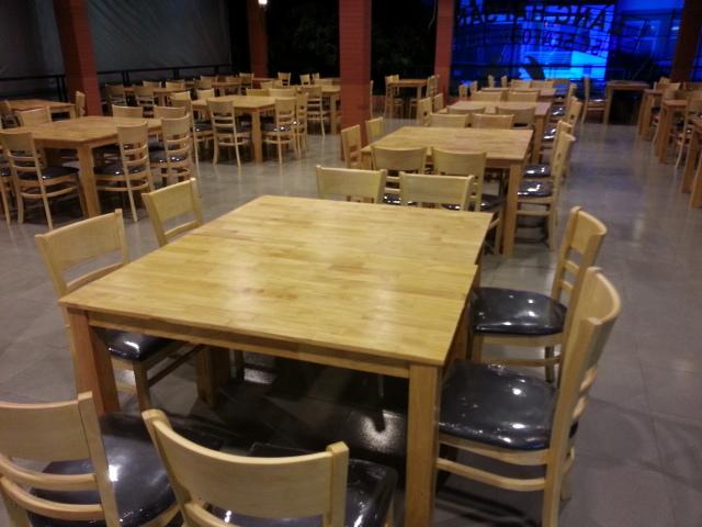 Thị trường thanh lý bàn ghế nhà hàng đang mở rộng