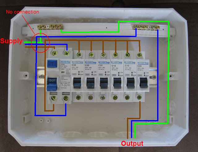 Distribution Board Wiring Diagram  Electrical Blog