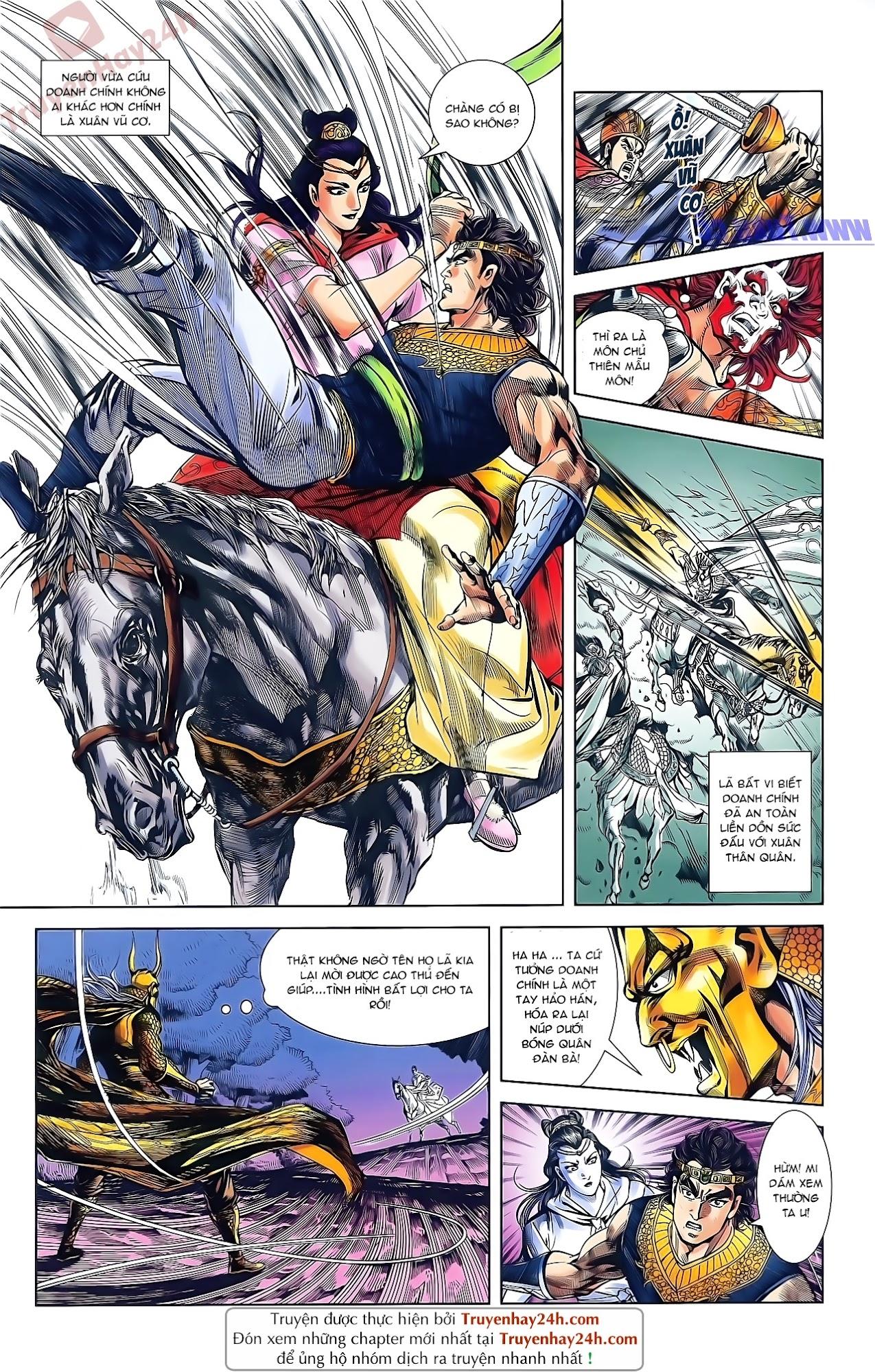 Tần Vương Doanh Chính chapter 49 trang 14