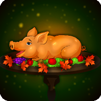 Play Games4Escape Thanksgiving Peepa Pig Escape