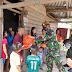 Atasi Dampak Covid-19, Yonarmed 16/KMP Bagikan Sembako di Empat Desa