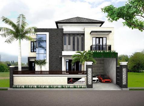 desain rumah minimalis 2 lantai mewah dan modern