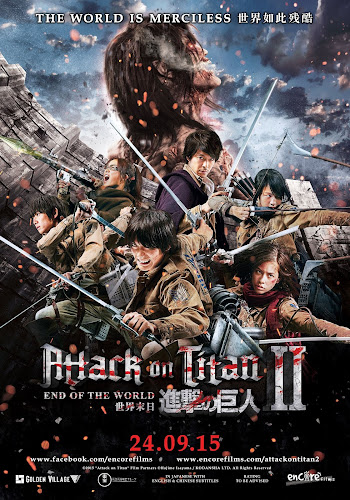 Attack On Titan: Part 2 (BRRip 1080p Japones Subtitulada) (2015)