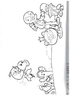 раскраски зомби 3