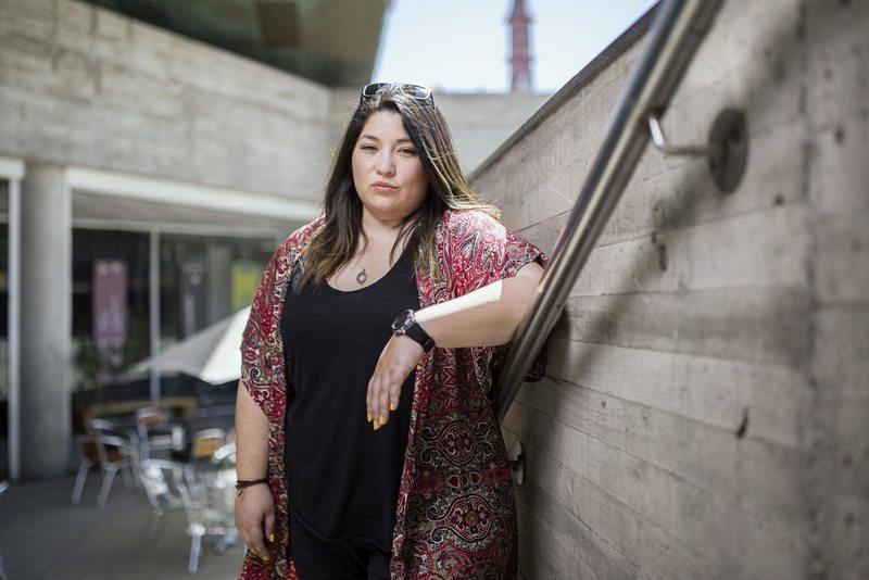 Barbarita Lara  pre candidata a la convención Constitucional