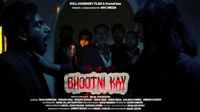 Bhootni Kay (2020) Urdu 720p WEB HDRip ESub x264 400Mb
