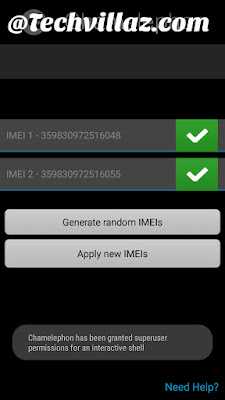 Change Infinix hot 4 imei