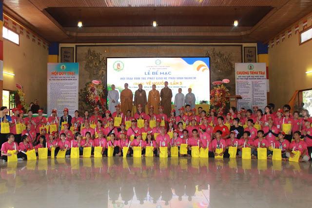 Hơn 1000 trại sinh tham dự lễ khai mạc Hội trại Tuổi trẻ Phật giáo Hệ phái Vĩnh Nghiêm lần 3 với chủ đề 'Về Nguồn' - Ảnh 12
