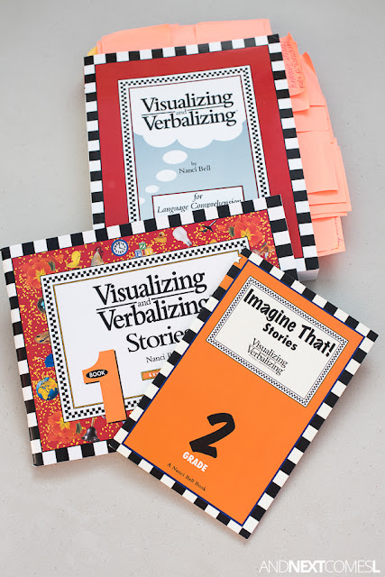 Visualizing and Verbalizing Lindamood Bell - homeschool kit