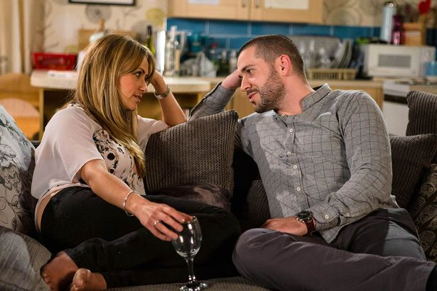Maria Connor and Aidan Connor in Coronation Street