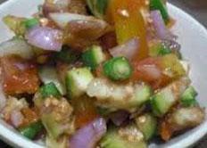 Resep praktis (mudah) beberuk terong spesial (istimewa) khas Lombok enak, sedap, gurih, nikmat lezat