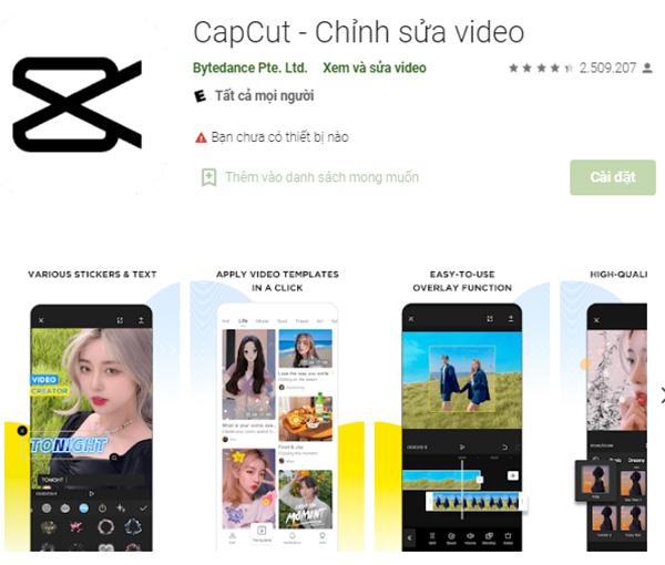 Tải CapCut Apk - App chỉnh sửa video cho Android miễn phí a