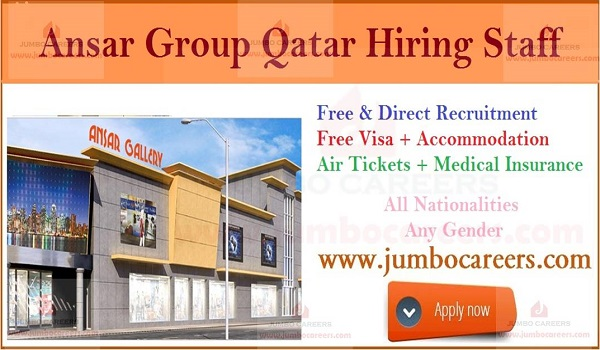Qatar jobs with salary and benefits, latest job openings in Qatar,