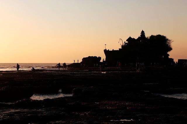 Siluete de Tanah lot (Bali)