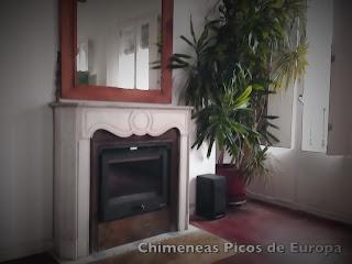instalacion cassette de leña en chimenea de Madrid