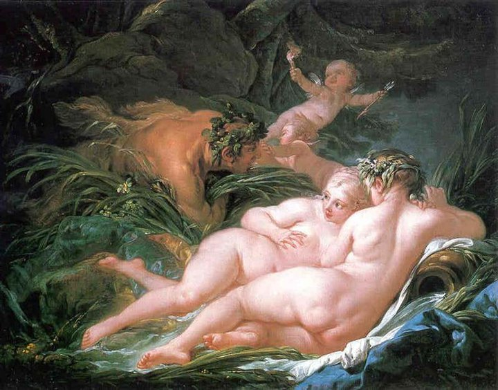 Francois Boucher 1703-1770 | French rococo painter